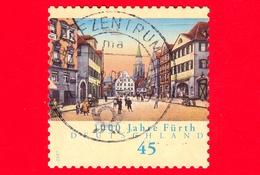 GERMANIA - Usato - 2007 - 1000 Anni Della Città Di Furth - Gruner Markt - 45 - Usati