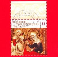 GERMANIA - Usato - 2007 - 800 Anni Della Nascita Di S. Elisabetta Di Turingia - Elisabeth Von Thüringen - 55 - Usati