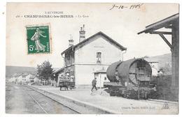 CHAMPAGNAC LES MINES - La Gare - Altri Comuni