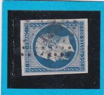N° 14A    PC 125   ARGENTON L'EGLISE  ( 75 )  DEUX-SEVRES   - REF 14112 + Variété - IND 15 - COTE 140€ - 1853-1860 Napoleon III