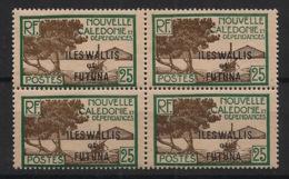Wallis Et Futuna - 1930-38 - N°Yv. 50 - Paletuviers 25c - Bloc De 4 - Neuf Luxe ** / MNH / Postfrisch - Unused Stamps
