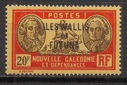 Wallis Et Futuna - 1930-38 - N°Yv. 65 - Bougainville 20f - Neuf Luxe ** / MNH / Postfrisch - Wallis And Futuna