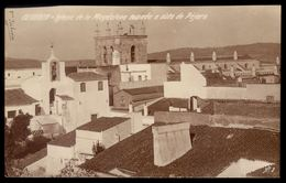 Postal Fotografico OLIVENÇA Iglesia Madalena Vista Pajaro ESPANHA. Tarjeta Postal OLIVENZA (Badajoz) ESPANA 1920s - Badajoz