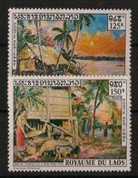 Laos - 1971 - Poste Aérienne PA N°Yv. 85 à 86 - Tableaux - Neuf Luxe ** / MNH / Postfrisch - Laos