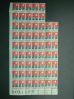 1927 Partie De Feuille 59 Vignettes Tuberculose Le Baiser Au Soleil Publicité Maisons Rolland - Antituberculeux