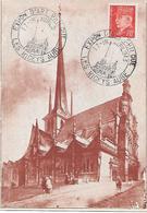 CP Exposition D'Art Philatélique 1943 Les Riceys - Guerres
