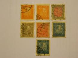 1902-05 Lot Christian IX - Usados