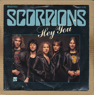 "7"" Single, Scorpions - Hey You - Disco, Pop"