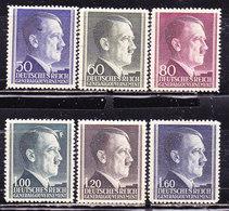 Germania1942 Occupazione Polonia-Hitler  Serie Completa Nuova MLLH - Germania