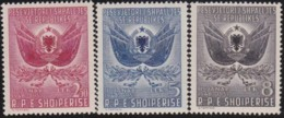 Albanien   .      Yvert      .    433/435     .    **     .      Postfrisch    .   /   .   MNH - Albania