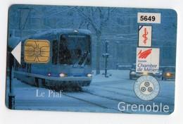 PIAF FRANCE GRENOBLE Ref Passion PIAF 38000-19 30€ L&G Date 02/04 Tirage 1000 Ex TRAMWAY - Francia
