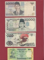 Autres-Asie 20 Billets Dans L 'état (certains Billets A FORTE COTE) - Billets