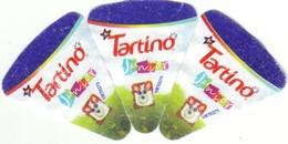 """Algérie - 3  Nouvelles étiquettes De  Fromage Fondu  """"Tartino Junior"""" Avec Numéro (Voir 2 Autres Numérisations). - Fromage"""
