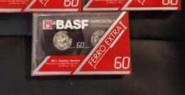 Basf FERRO EXTRA I  60 Chrome    AudioKassette Cassete Audio Tape Neu - Audio Tapes