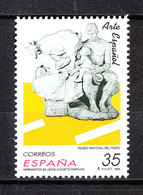 "Spagna  - 1998. Scultura "" Hermanitos De Leche "" . Museo Prado. MNH - Scultura"