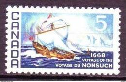 Canada, 1968, #482, Bateau, Iceberg, Polaire, Polar, Exploration, Nonsuch, Boat, Polar, North - Unclassified
