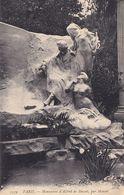 France Paris Monument D'Alfred De Musset Statue Postcard - England