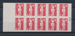 France Carnet 2630 C1 Marianne De Briat - Markenheftchen