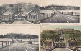 Saltburn Tramway 4x Old Postmarks Postcard S - England