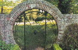 Spider Insect Gate At Hoveton Hall Entrance Rare Norfolk Postcard - England