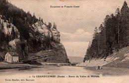 T6 - CP DOUBS - Grand'combe Comb - Entrée Du Vballon De Morteau - Other Municipalities