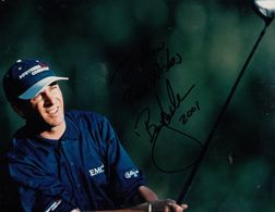 Billy Andrade PGA American Golf Champion 10x8 2001 Hand Signed Photo - Actores