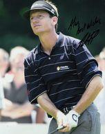 Brad Faxon PGA American Golf Champion 10x8 Hand Signed Photo - Actores