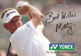 Colin Montgomerie Scottish Golf Golfer Large 8x5 Hand Signed Photo - Acteurs