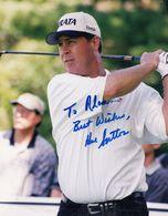 Hal Sutton PGA Champion Golf Golfer 12x8 Large Hand Signed Photo - Actors