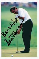 Sam Torrence European Golf Champion Large Hand Signed Photo - Actores