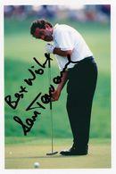 Sam Torrence European Golf Champion Large Hand Signed Photo - Actors