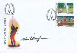 Steve Elkington PGA Golf Champion Signed First Day Cover - Actores