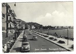2997 - SESTRI LEVANTE GENOVA PASSEGGIATA LUNGOMARE 1956 - Italia