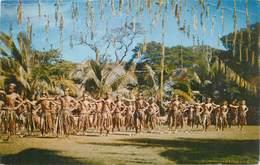 """CPSM TAHITI """"Danseurs De Makatea"""" - Polynésie Française"""