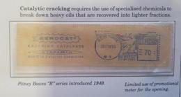 O) 1953 UNITED STATES - USA, CHEMISTRY - FLUID CATALYTIC CRACKING AEROCAT -CYANAMID METER STAMP - FRANQUEADORA - POSTA - United States