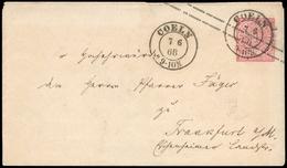 Altdeutschland Norddeutscher Postbezirk, GAU, Brief - Norddeutscher Postbezirk