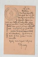 Tampon Sur Carte Postale Ancienne Sanctuaire Du Sacré Coeur De Jésus Saint Germain Du Crioult 1950 - Religione & Esoterismo