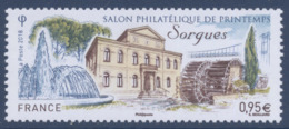 N° 5210 Salon Philatélique Sorgues Faciale 0,95 € - France
