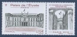 N° 5221 91e Congrès à Paris Faciale 0,95 € - France