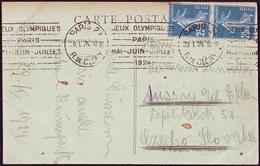 France - 1924 P - Olympic Games 1924 - Postcard (Rue De Clery) - Estate 1924: Paris