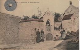 77 - Carte Postale Ancienne De  THURELLE   Fontaine De Saint Fortuné - Altri Comuni