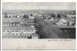 Saronno (Varese). Veduta Dal Santuario. - Varese