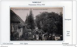 63 - NEBOUZAT - Procession De La Fète-Dieu - Autres Communes