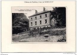 63 - NEBOUZAT - Chateau De Pradines - Autres Communes