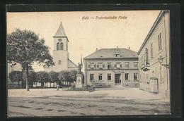 AK Kehl, Denkmal An Der Protestantischen Kirche - Kehl