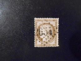 FRANCE YT56 CERES 30c. Brun Losange GC 2654 - 1871-1875 Ceres