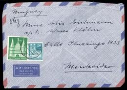 1948, Bizone, 92 Eg + 97 Eg, Brief - Bizone