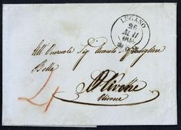 1851, Schweiz, Brief - Schweiz