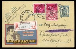 1941, Belgien, 210 A U.a., Brief - Belgien
