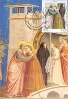 CAPPELLA DEGLI SCROVEGNI  PADOVA GIOTTO    MAXIMUM   POST CARD  (GENN201493) - Religione